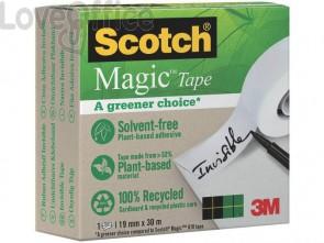 Nastro adesivo Scotch® Magic™ 19 mm x 30 m trasparente opaco 9-1930R