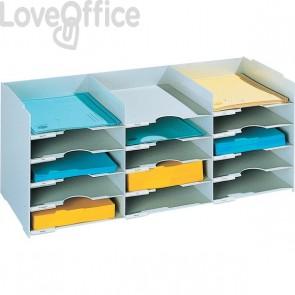 Sistema multiblocco Paperflow - Blocco schedario - grigio - K421302