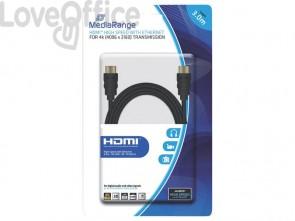Cavo di collegamento Media Range HDMI ad alta velocità con Ethernet contatti dorati 18 Gbit/s - MRCS157