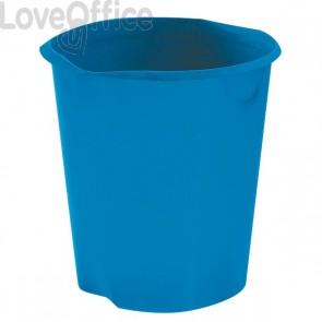 Cestino gettacarte Modula Leonardi - blu - E020BN