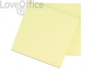 Foglietti riposizionabili Q-Connect 63 g/m² giallo 76x76 mm 12 blocchetti da 100 ff - KF10502