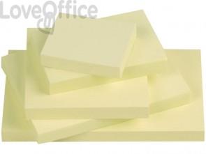 Foglietti riposizionabili Q-Connect 63 g/m² giallo 76x102 mm 12 blocchetti da 100 ff - KF01410
