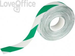 Bobina di nastro antiscivolo adesivo DURABLE DURALINE STRONG 2 COLOUR verde segnale-bianco - 1726131