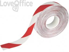 Bobina di nastro antiscivolo adesivo DURABLE DURALINE STRONG 2 COLOUR rosso segnale-bianco - 1726132