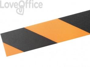 Bobina di nastro antiscivolo adesivo DURABLE DURALINE STRONG 2 COLOUR giallo segnale/nero - 1726130