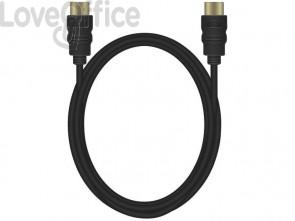 Cavo di collegamento Media Range HDMI ad alta velocità con Ethernet contatti dorati 18 Gbit/s - MRCS156