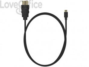 Cavo di collegamento Media Range HDMI/Micro HDMI ad alta velocità con contatti dorati 10,2 Gbit/s - MRCS146