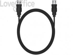 Cavo di prolunga Media Range USB 2.0 A/A 1,8m nero MRCS154