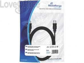 Cavo di prolunga Media Range USB 2.0 A/A 3m nero MRCS111
