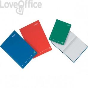 Registro Monocromo cartonato Pigna a quadretti 5 mm - A4 21x31 cm - 194 fogli