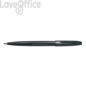 Penna punta in fibra Sign Pen Pentel - nero - 2 mm