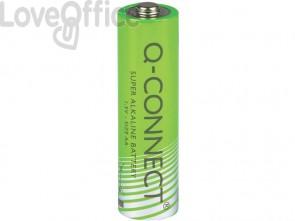 Batteria alcalina Q-Connect AA/LR6 1.5 V AA/LR6 1,5 V conf.4 - KF00489