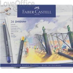 Matite colorate permanenti Goldfaber Faber-Castell 24 colori -114724 (Conf. 24 pezzi)