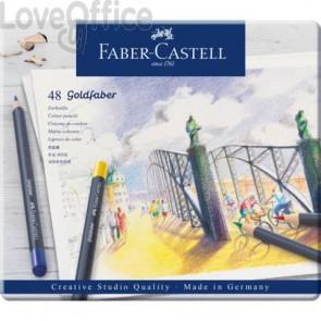 Matite colorate permanenti Goldfaber Faber-Castell 48 colori -114748 (Conf. 48 pezzi)