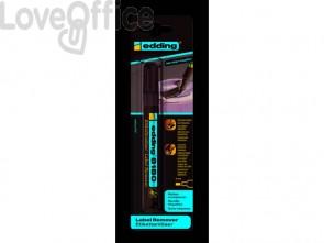 Rimuovi etichette edding 8180 punta scalpello 4 mm trasparente