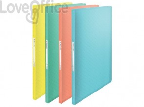 Portalistino Esselte Colour'Ice polipropilene A4 verde 626228