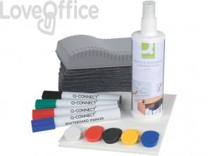 Starter kit per lavagne bianche magnetiche Q-Connect