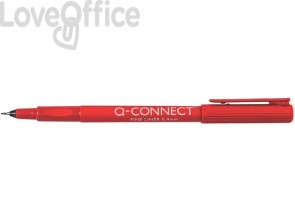 Fineliner Q-Connect 0,4mm rosso  KF25009