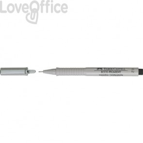 Penna punta in fibra Faber-Castell Ecco Pigment 0,2 mm 166299