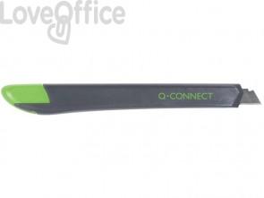 Cutter in plastica con guida Q-Connect 9 mm KF10631