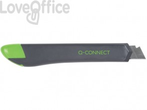Cutter in plastica con guida Q-Connect 18 mm KF10632
