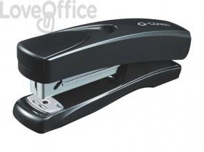 Cucitrice da tavolo Q-Connect ABS 20 ff nero profondità cucitura 5,5 cm KF01056