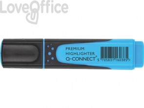 Evidenziatori blu Q-Connect 2-5 mm KF16038 (conf.10)