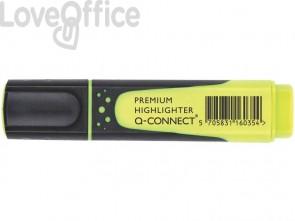 Evidenziatore Q-Connect 2-5 mm giallo  KF16035