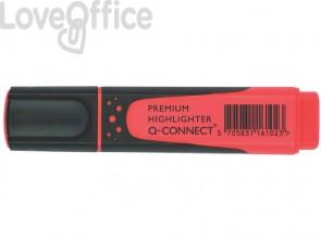 Evidenziatore Q-Connect 2-5 mm rosso  KF16102