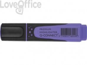 Evidenziatore Q-Connect 2-5 mm lilla  KF16040