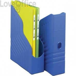 Portariviste Magazine Rack King Mec - blu - 00045004