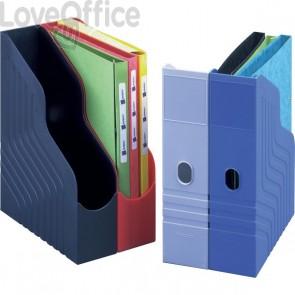 Portariviste Magazine Rack King Mec - rosso - 00045011