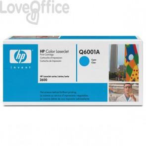 Originale HP Q6001A Toner ciano
