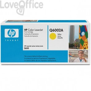 Originale HP Q6002A Toner giallo