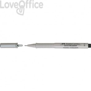 Penna punta in fibra Faber-Castell Ecco Pigment 0,4 mm 166499