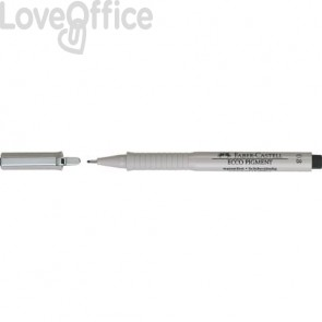 Penna punta in fibra Faber-Castell Ecco Pigment 0,8 mm 166899
