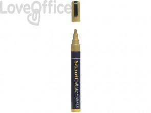 Pennarello a Gesso Liquido Oro Securit® Chalkmarker - a punta media - 2-6 mm SMA510-GD