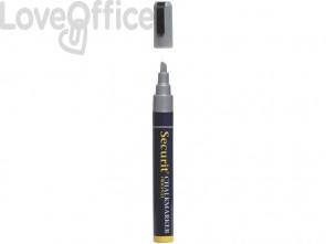Pennarello a Gesso Liquido Argento Securit® Chalkmarker - a punta media - 2-6 mm SMA510-SL