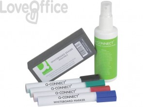 Kit per lavagne bianche Q-Connect colori assortiti KF10690A