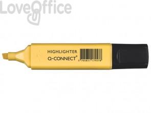 Evidenziatore Pastel Q-Connect 1,5-2 mm giallo KF17957