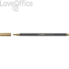 Pennarellino Stabilo Pen 68 metallic 1 mm - oro - 68/810