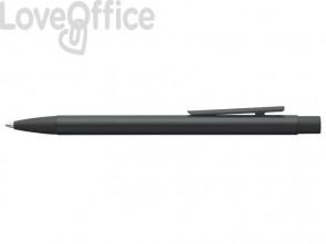 Penna a sfera a scatto Faber-Castell Neo Slim M nero laccato 342320