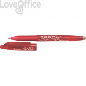 Penna a sfera cancellabile Pilot Frixion Ball punta Broad 1 mm rosso