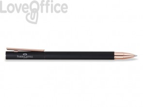 Penna roller Faber-Castell Neo Slim M nero rosegold 343114