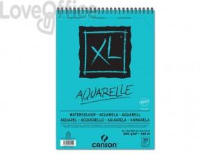 Album spiralato CANSON XL Watercolour bianco 300 g/m² 30 fogli A4 C400039170