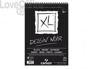 Album spiralato CANSON XL Black nero 150 g/m² 40 fogli A4 C400039086