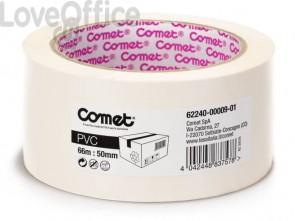Nastri adesivi per la spedizione Comet PVC con adesivo in gomma naturale 50mmx66m trasparente - 62240-00009-01