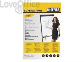 Blocchi Bi-office Bi-Office blocco carta per cavalletti - bianca 80 gr. quadretti blu - 50 fogli bianco - FL035902