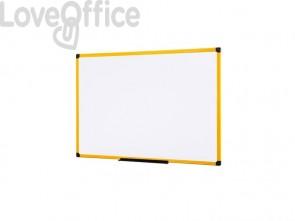 Lavagne cancellabili Bi-office Ultrabrite magnetica bianca laccata 120x90 cm. bianco - MA0515177