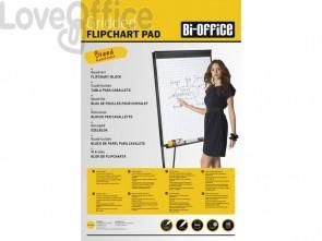 Blocco lavagna per cavalletti Bi-office Hearth - quadretti blu 80 g/m² - 95x65 cm - FL035903 (20 fogli)